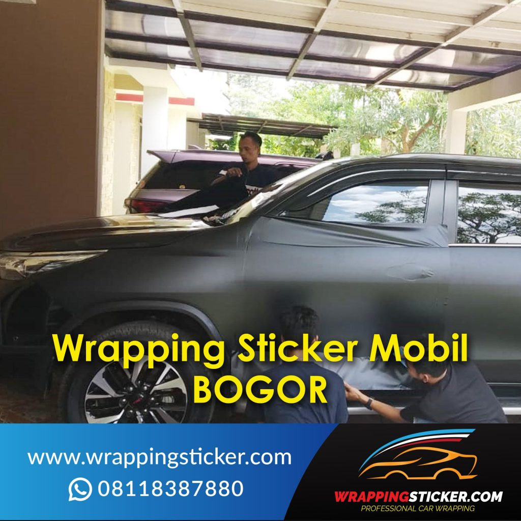 Wrapping Sticker Mobil Bogor