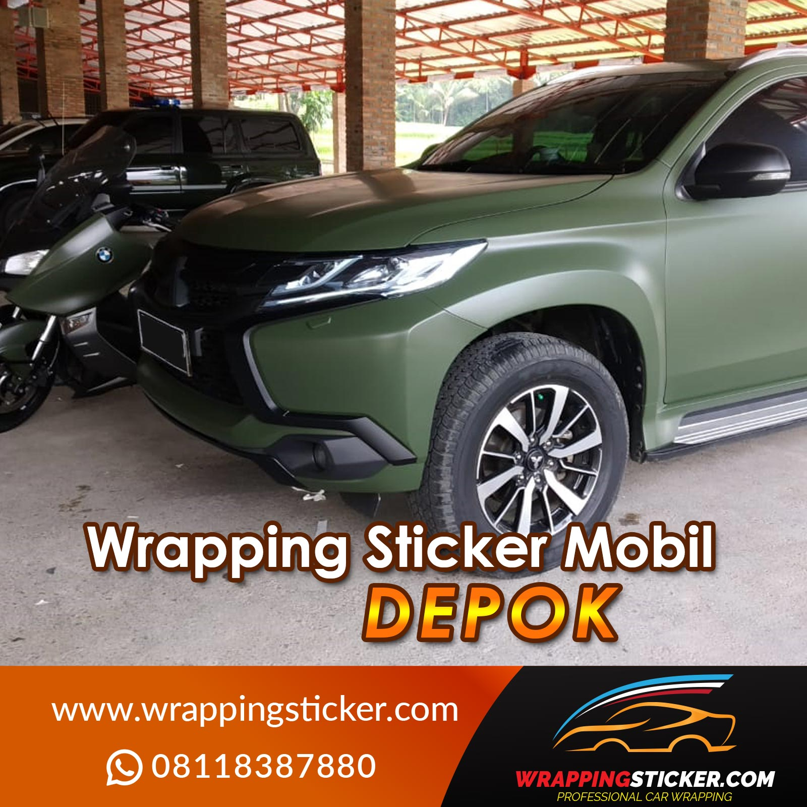 Wrapping Sticker Mobil Depok