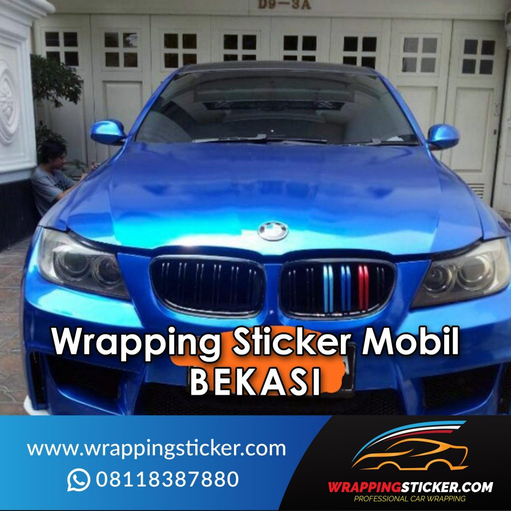Wrapping Sticker Mobil Bekasi Wrapping Sticker