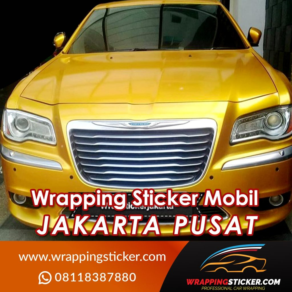 Wrapping Sticker Mobil Jakarta Pusat